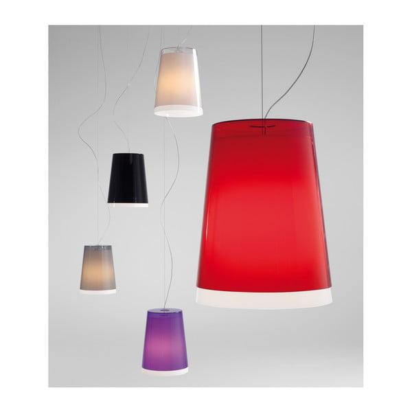 Závěsné světlo L001S/AA, transparentní fialová