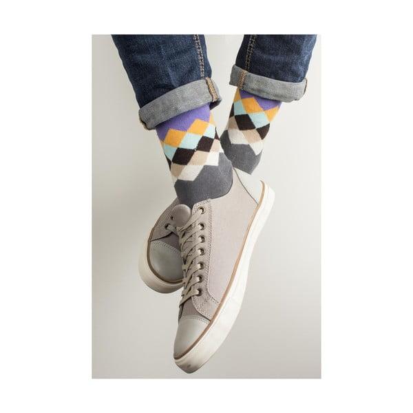 Sada 4 párů unisex ponožek Funky Steps Leis, velikost39/45