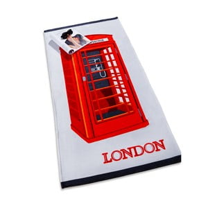Ručník Ozdilek London Telephone, 75x150cm