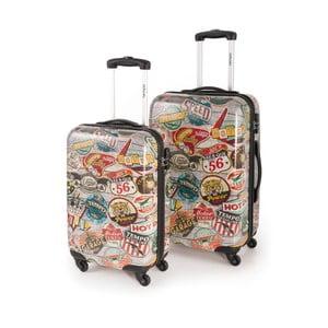 Set 2 cestovních kufrů Skpa Negro