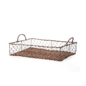 Proutěný podnos Wicker Rectangle, 48 cm