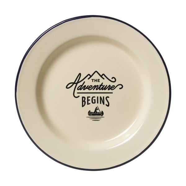 Smaltovaný tanier Gentlemen's Hardware Plate Enamel