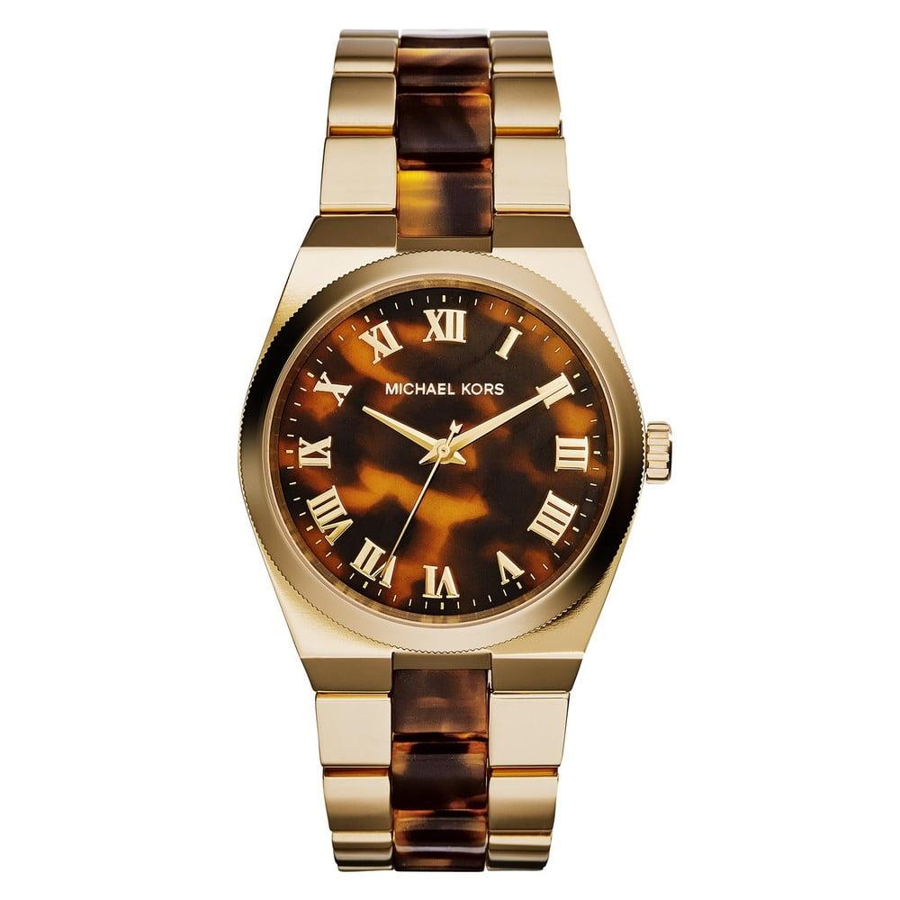 3b6d1b4256e Dámské hodinky zlaté barvy Michael Kors Tiger