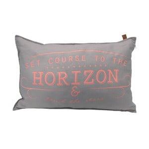 Šedý polštář OVERSEAS Horizon,40x60cm