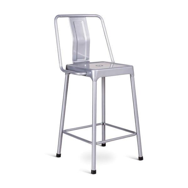 Sada 2 barových židlí ve stříbrné barvě Design Twist Magoye