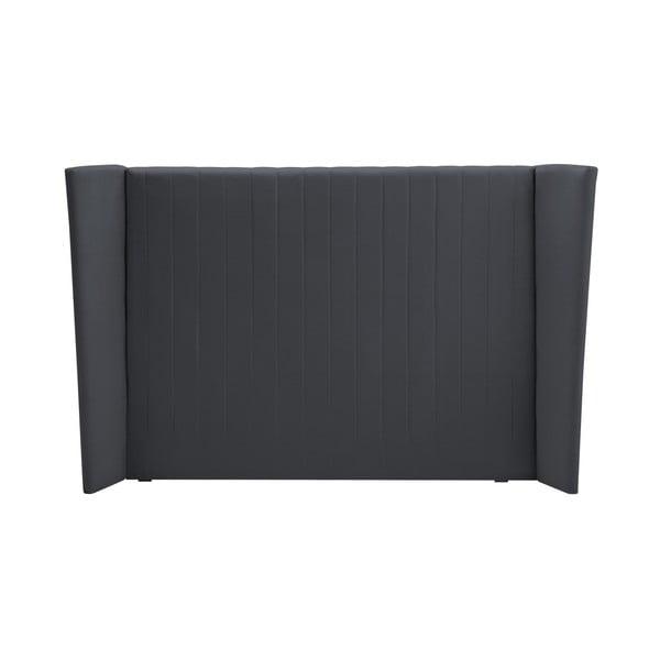 Šedé čelo postele Cosmopolitan design Vegas, 180x120cm