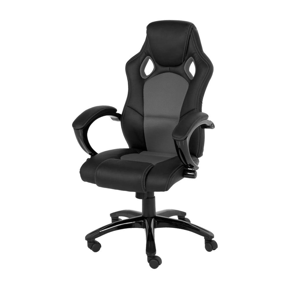 Šedá kancelářská židle na kolečkách Actona Speedy