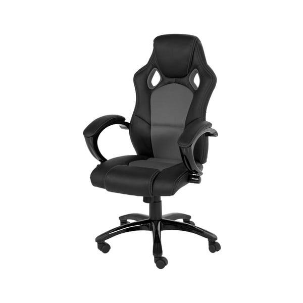 Szare krzesło biurowe na kółkach Actona Speedy