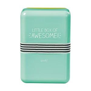 Obědová krabička s gumičkou Happy Jackson Awesome