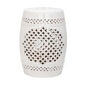 Măsuță din ceramică Safavieh Marbella, crem