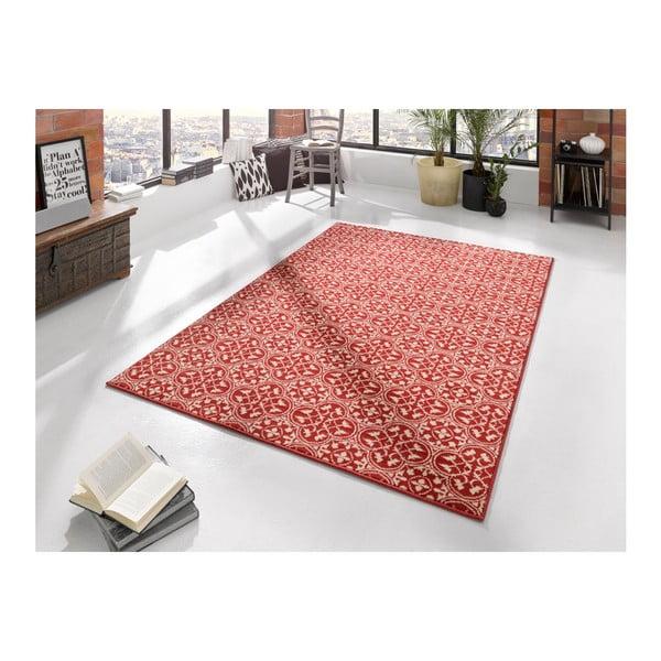 Červený koberec Hanse Home Gloria Pattern, 80 x 150 cm