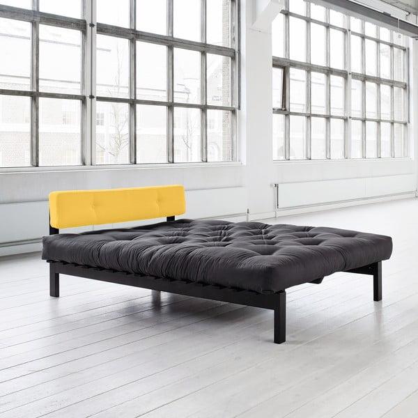 Postel Dubstep 140x200 cm, gray/amarillo
