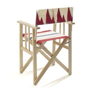Skládací židle Director, červená