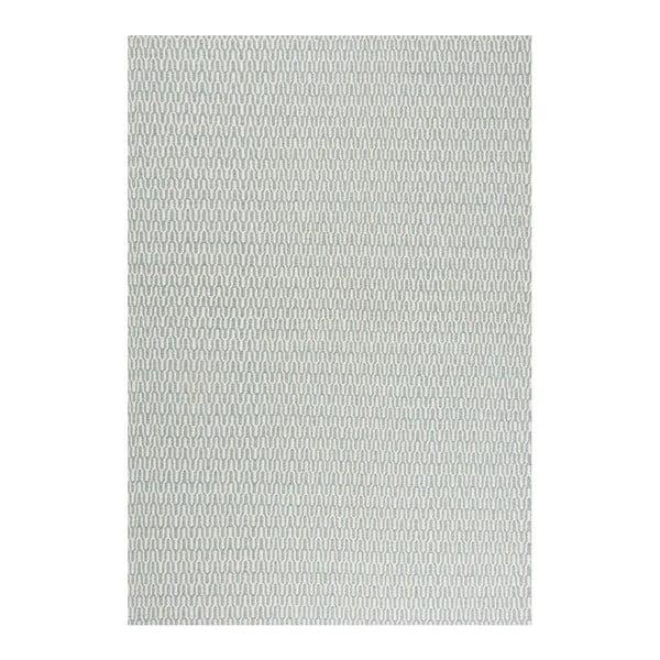 Vlněný koberec Charles Aqua, 160x230 cm