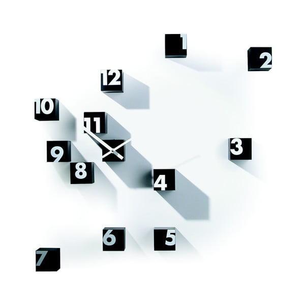 Nástěnné hodiny Rnd_Time, černé