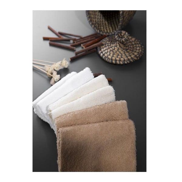 Sada 6 ručníků Hill Beige, 30x30 cm