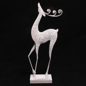 Dekorativní kovový sob, 47 cm