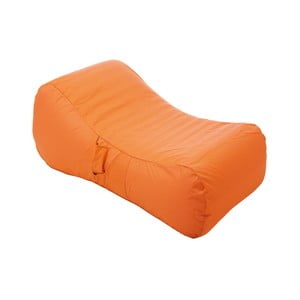 Oranžové nafukovací lehátko do bazénu Sunvibes Wave