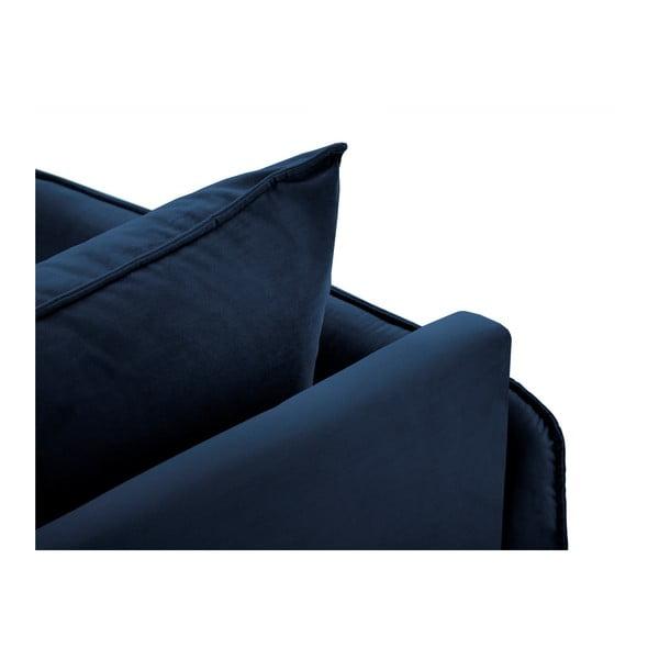 Modrá lenoška s područkou na levé straně Cosmopolitan Design Vienna