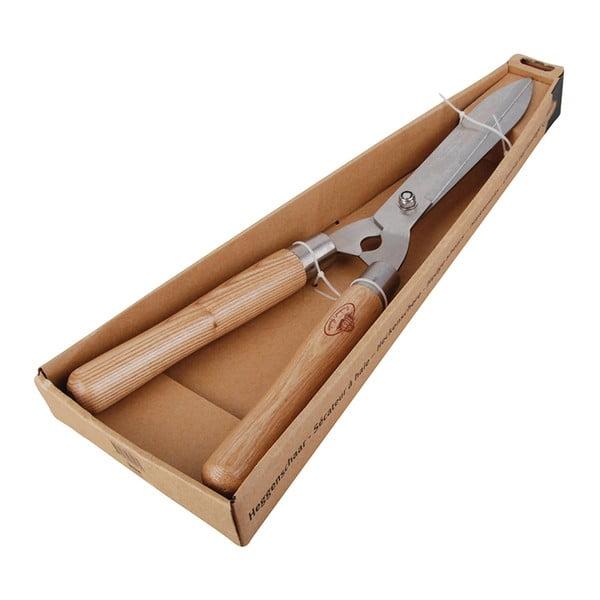 Velké zahradnické nůžky z jasanového dřeva Esschert Design Smooth