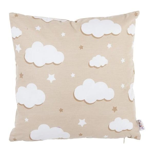 Jasnoszara bawełniana poszewka na poduszkę Apolena Skies, 35x35 cm