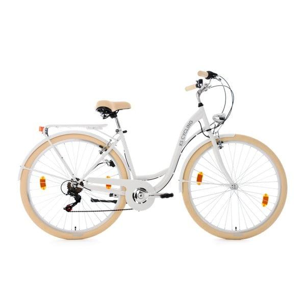 "Kolo City Bike Balloon White 28"", výška rámu 48 cm"