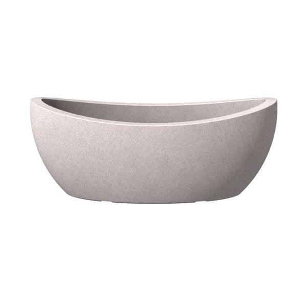 Truhlík Globe 58x23 cm, šedý