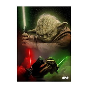 Poster Duel of the Fates - Yoda