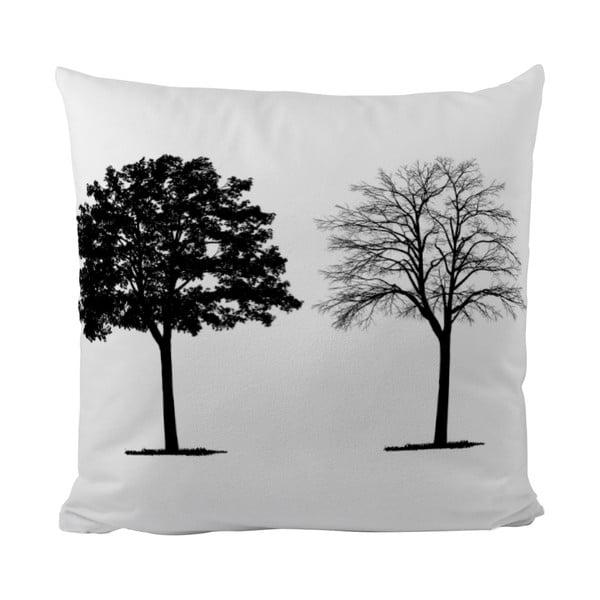 Polštářek Black Shake Two Trees, 40x40 cm