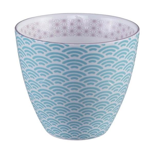 Modro-bílý hrnek na čaj Tokyo Design Studio Star/Wave, 350ml