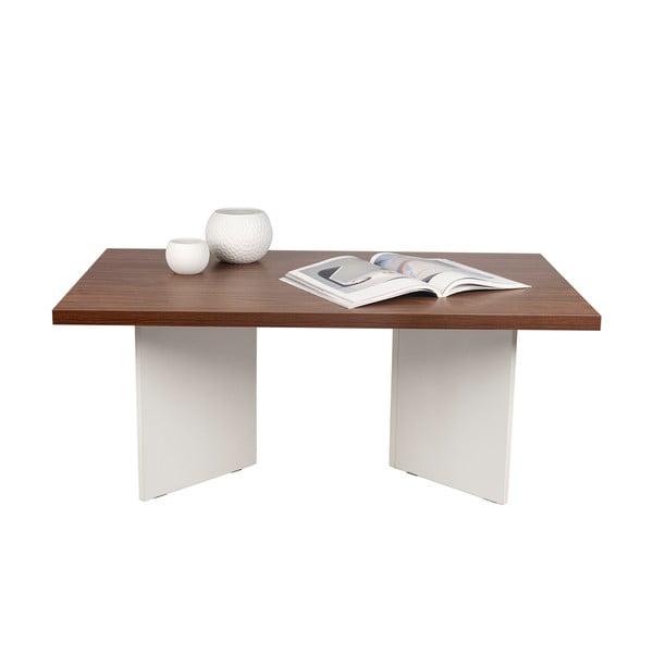 Konferenční stolek v dekoru ořechového dřeva TemaHome Marbella