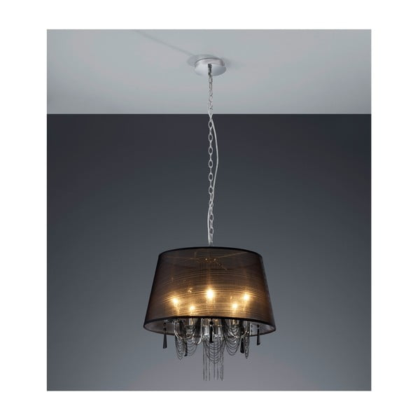 Závěsné světlo Serie 1104, černé