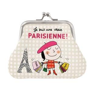 Peněženka na drobné Vraie Parisienne, beige