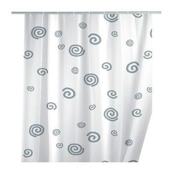 Perdea duș Wenko Snail, 180 x 200 cm imagine