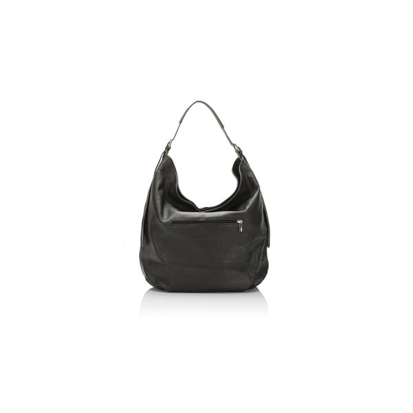 Černá kožená kabelka Giorgio Costa Priscilla