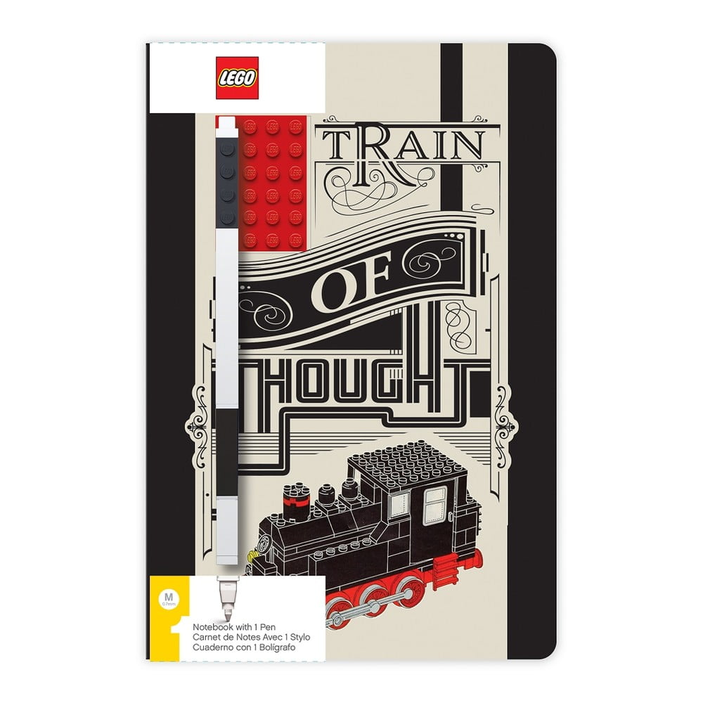 Sada zápisníku apera LEGO® Train of Though