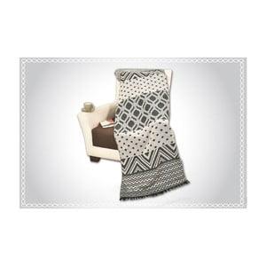 Bavlněná deka Bonita Siyah,180x60cm