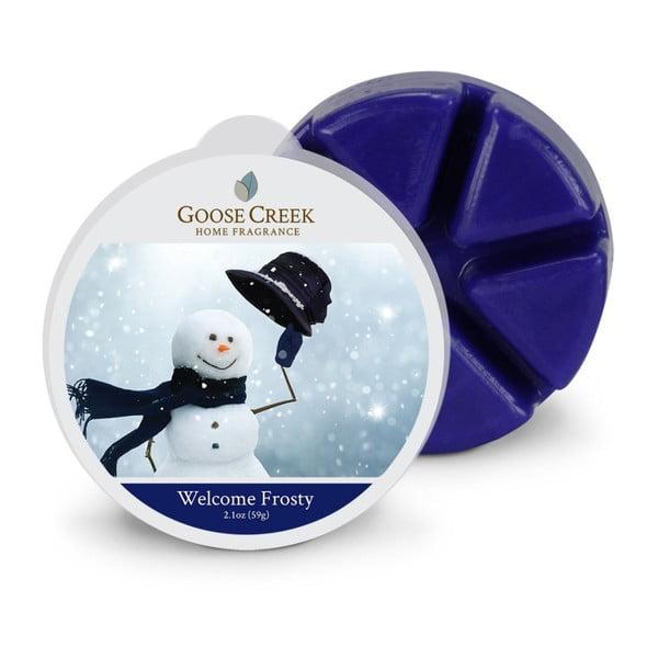 Ceară aromată pentru lămpi aromaterapie Groose Creek Welcome Frosty