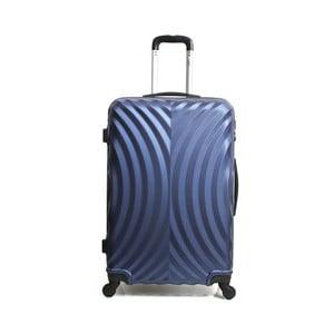 Modrý cestovní kufr na kolečkách Hero Lagos, 60l