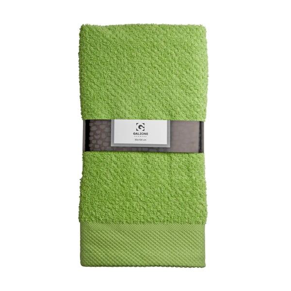Osuška Galzone 100x50 cm, zelená