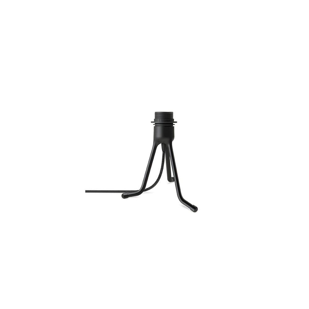 Černý polohovací stojan tripod na světla VITA Copenhagen, výška 18,5 cm