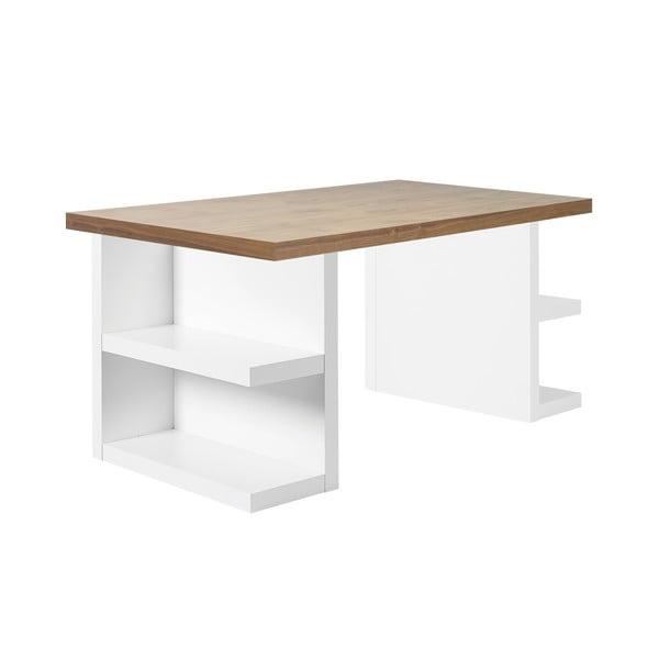 Hnědý pracovní stůl TemaHome Multi, 180 cm
