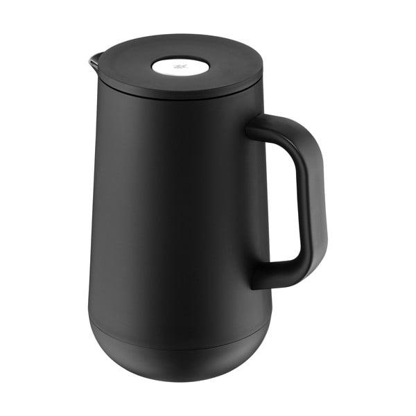 Termos din oțel inoxidabil v černé barvě WMF Cromargan® Impulse, 1 l