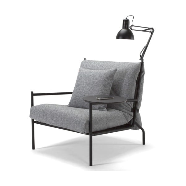 Šedé křeslo Innovation Noir Chair