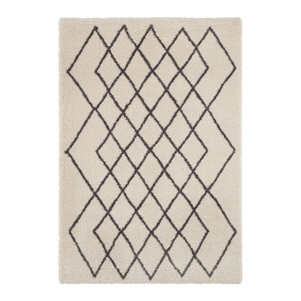 Covor Mint Rugs Allure, 80 x 150 cm, crem - gri