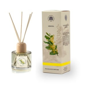Aroma difuzér s vůni mimózy Bahoma London Fragranced, 100 ml
