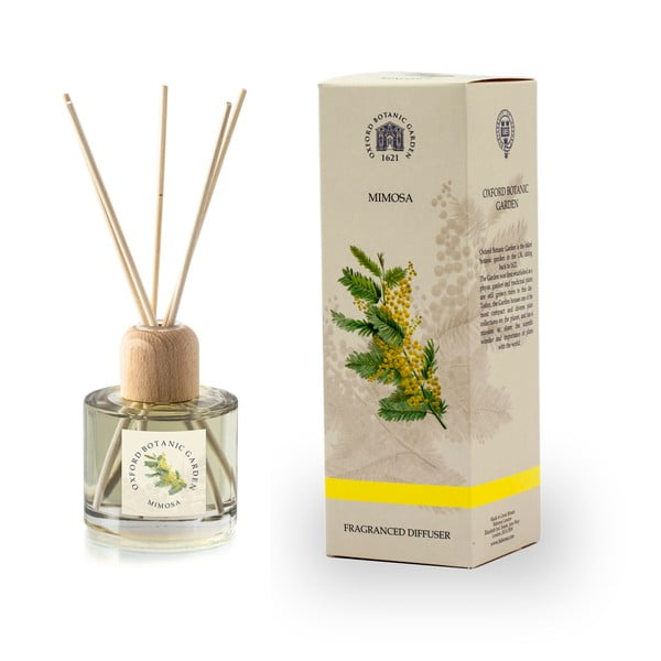Aroma difuzér s vůni mimózy Bahoma London Fragranced, 100ml