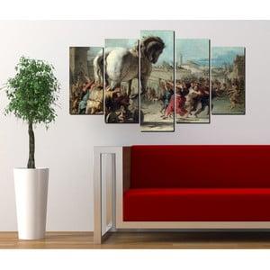 5dílný obraz Trojský kůň