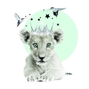 Autocolant pentru perete Dekornik Lion King de la Dekornik