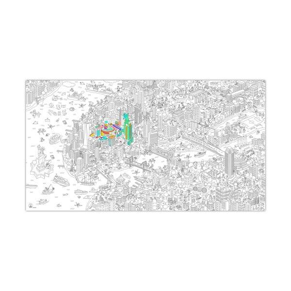 Omalovánka OMY New York XXL (180 x 100 cm)